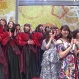 『欅坂46、豪華な赤黒の新衣装で登場!【第69回 NHK紅白歌合戦】』の画像
