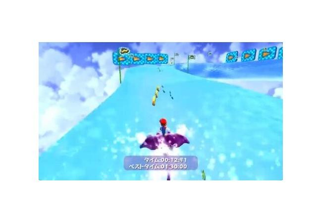 Switch『マリオ3Dコレクション』、ギャラクシーのサーフィンレースは本体を傾けて操作する仕様