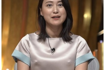 小川彩佳「乳首ポチってるみたいでイヤです」
