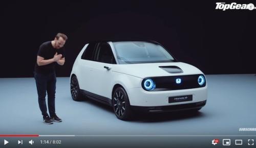 ホンダの新型電気自動車「Honda e」プロトタイプのデザインに海外感動