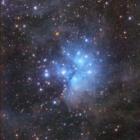 『M45とその周辺の反射星雲』の画像