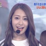 『【乃木坂46】『24時間テレビ』アップの桜井玲香が凄まじく美しすぎる・・・』の画像