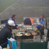 『2004年 7月22~25日 144MHz・430MHz等全国伝搬実験:岩木町・岩木山8合目』の画像