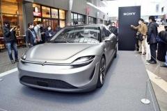 ソニーのEV、試作車「VISION-S」国内初の一般公開!