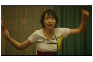 【gif】新垣結衣さん、バランスボールで控えめなおっぱいをアピールしてしまう