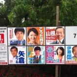 『本日、参議院議員選挙が公示 投開票日は7月21日(日) 埼玉選挙区には8人が立候補です』の画像