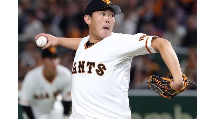 巨人のエース山口俊さん、DeNA戦で7回1失点