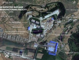 北朝鮮が首都平壌に近い施設で核弾頭の製造を継続か…衛星写真を分析!