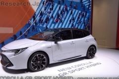 トヨタ「カローラGRスポーツ」、日本発売に期待