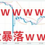 『【FX悲報】ドル円大暴落で欲豚無事死亡のお知らせwww【フラッシュクラッシュ】』の画像