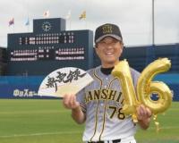 阪神2軍がファーム新16連勝 平田監督、江越好守に「超超超ファインプレー」