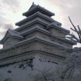 『雪の鶴ヶ城』の画像