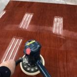 『鏡面塗装・会議テーブルの塗り直し(後編)』の画像