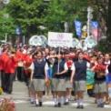 2015年横浜開港記念みなと祭国際仮装行列第63回ザよこはまパレード その44(横浜創英中学・高等学校マーチングバンド)