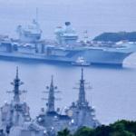 【動画】英海軍空母「クイーン・エリザベス」横須賀入港!司令官が日本にメッセージ!