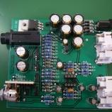 『ヘッドホンアンプの直付オペアンプの交換とコンデンサ交換15箇所』の画像