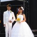 東京大学第64回駒場祭2013 その74(ミス&ミスター東大コンテスト2013の64(候補者ウェディングドレスとタキシードで登場))