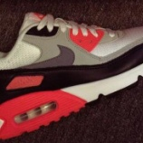 "『2015 NIKE AIR MAX 90 RETRO ""INFRARED""』の画像"