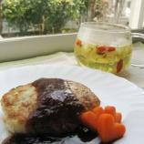 『薬膳レシピ「豆腐ハンバーグ枸杞子(クコの実)ソース」作りました』の画像