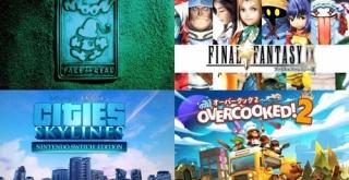 Nintendo Switch年末年始セールが実施!『moon』『FFシリーズ』『DQシリーズ』『シティーズ:スカイライン』などが大幅値下げ!