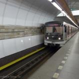 『チェコ旅行記14 また地下鉄に乗ってプラハのスーパー「BILLA(ビラ)」でお土産購入』の画像