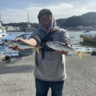 『11月2日半日アジ釣り』の画像