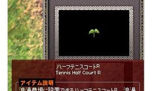 ハーフテニスコートRのRが何かを考える