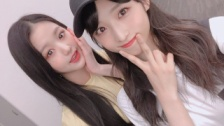 AKB48G田中美久&瀧野由美子&小栗有以、Mステで共演したIZ*ONEメンバーとの写真を公開