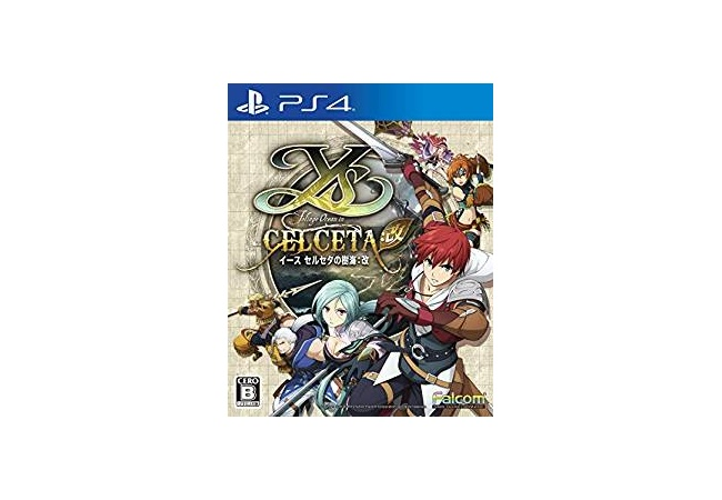 PS4『イース セルセタの樹海:改』5月16日発売決定!!