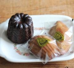 オーボンヴュータンの焼き菓子