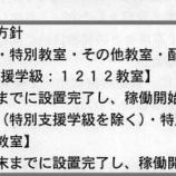 『岡崎市内の小中学校は2018年内にエアコン設置の計画 -より迅速にすすむこととなりました-』の画像