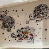 『【江戸川】学生の絵画が三越本店に展示』の画像