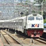 『電車はまだ?プルワカルタへ廃車回送続々(10月28日)』の画像