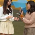 2013年 第45回相模女子大学相生祭 その23(ミスマーガレットコンテスト2013の12(中林聡子に質問))