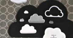 【キャンドゥ】おしゃれな100均食器!雲のカタチが可愛い豆皿!