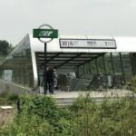 【動画】中国、「こりゃ酷い!藪の中の駅」と嘲笑された地下鉄駅周辺の大逆襲~!