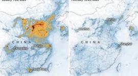 【中国】コロナ蔓延で大気が正常化、経済活動の停滞が影響