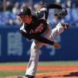 『【野球】ヤ1―6ロ 唐川、7回1失点の好投、アジャ井上が豪快オープン戦1号』の画像