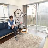 『【画像】オシャレな自転車部屋まとめ【インテリア】 3/4 【インテリアまとめ・画像 部屋 】』の画像