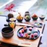 【嵐山】プチ丼のかわいいランチ ~五木茶屋 五穀豊穣のお茶屋のごはん