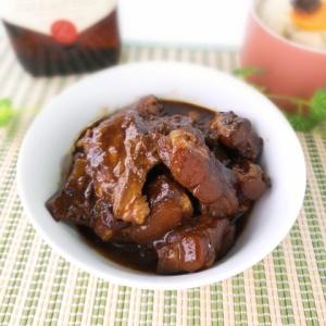 絶妙な味わい♪豚軟骨の中華風煮込み