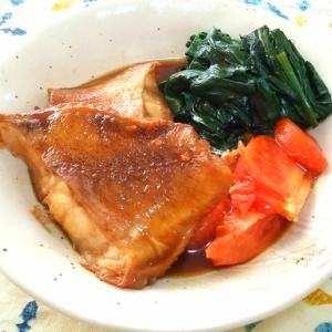 赤魚の煮付け トマト風味
