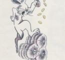 逃走、樋田容疑者には可愛いウサギの入れ墨、見つけたら110番通報