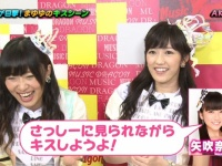 HKT48矢吹奈子「さっしーに見られながらキスしようよ」