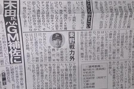 【悲報】 2011年巨人開幕投手 東野峻さん、戦力外 alt=