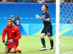 リオ五輪!【 日本代表×コロンビア 】前半終了!日本が果敢に攻めあがるも得点ならず!0-0で折り返す!