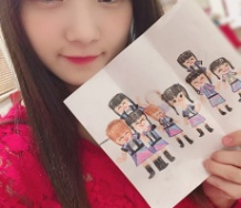 『【Juice=Juice】段原瑠々のお母さんの親戚の子供が描いたJuice=Juicewwwwwwwwww』の画像