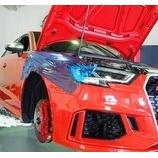 『【スタッフ日誌】Audi RS3(8V)後期型にKW version-3を装着させて頂きました!』の画像