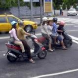 『2005年 台湾のスクーターは力持ち』の画像