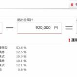 『2020年8月(40カ月目)の東京海上日動のiDeCoの評価額は-300円でした。』の画像